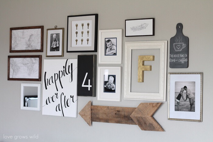 Lovely Wall Letters Kitchen