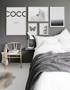 [snap]寝室のアクセントウォール