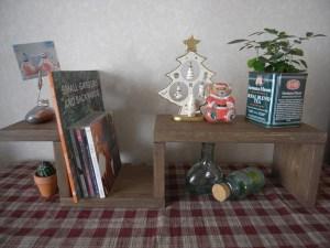 自作の木工品