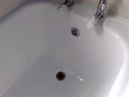 HOME DZINE Bathrooms Restore Or Paint Cast Iron Ceramic