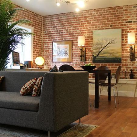Home Dzine Home Decor 20 Divine Bare Brick Interiors