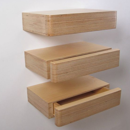 Depending on your skill level, you can use a variety of materials to make a secret compartment wall shelf. from pine or reclaimed wood, to bamboo or fancy plywood.