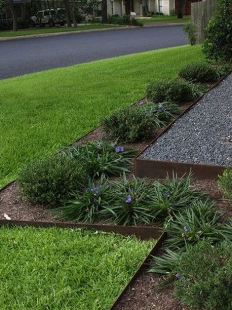 steel edging for borders and beds