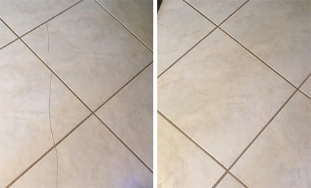 fix chipped or cracked tiles