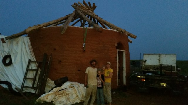 First roof, complete before nightfall!