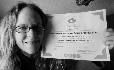 certified lactation consultant certificate