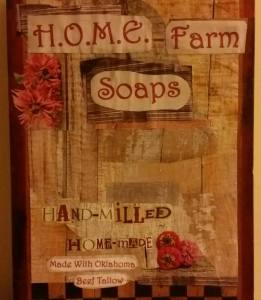 Soap Sign
