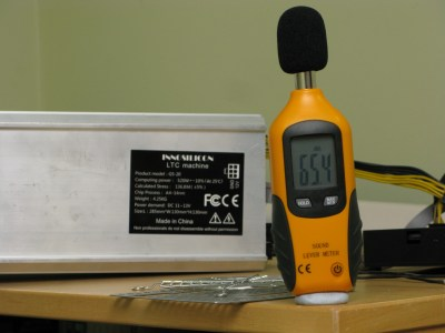 A4 noise level Silverstone FHP141-VF