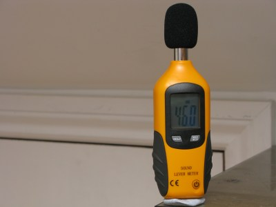 The Mine Noise level After fitting MLV - 46 dB
