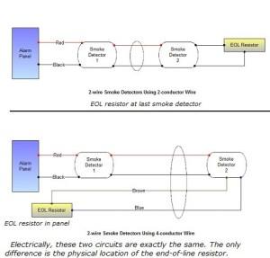 Smoke Detector Wiring  Connecting Multiple Runs
