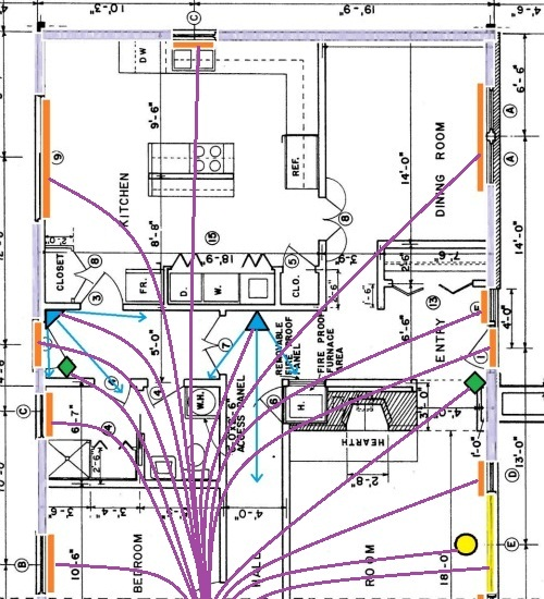 diagram 4 wire wiring diagram home security full version hd