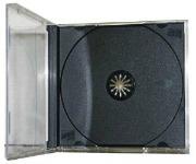 CD jewel case cd and dvd storage