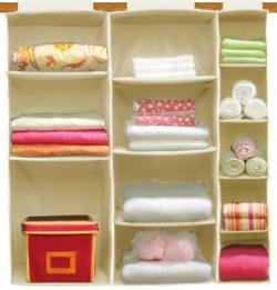 KangaRoom hanging shelves