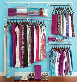 rubbermaid closet organizer Organizing Your Master Bedroom Closet