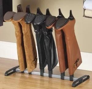 boot organizer rack