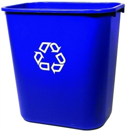 small recycling container