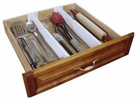 kitchen drawer organizer Kitchen Drawers and Cabinets Organization