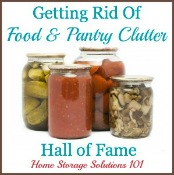getting rid of pantry and spices clutter hall of fame