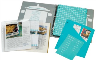 recipe binder 52 week home organization challenge