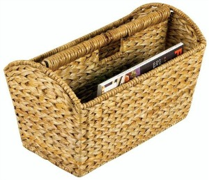 magazine rack or basket