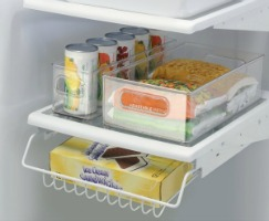 refrigerator and freezer storage bins Refrigerator and Freezer Organization