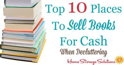 Top 10 Places To Sell Books For Cash