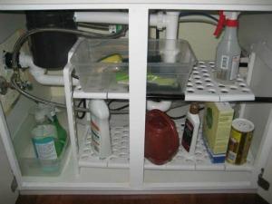 under sink shelf organizer Kitchen Drawers and Cabinets Organization