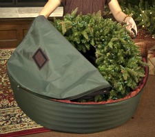 WreathKeeper wreath storage container organizing christmas decor