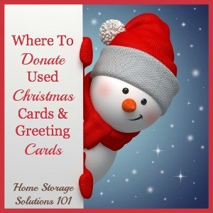 Where To Donate Used Christmas Cards Amp Greeting Cards