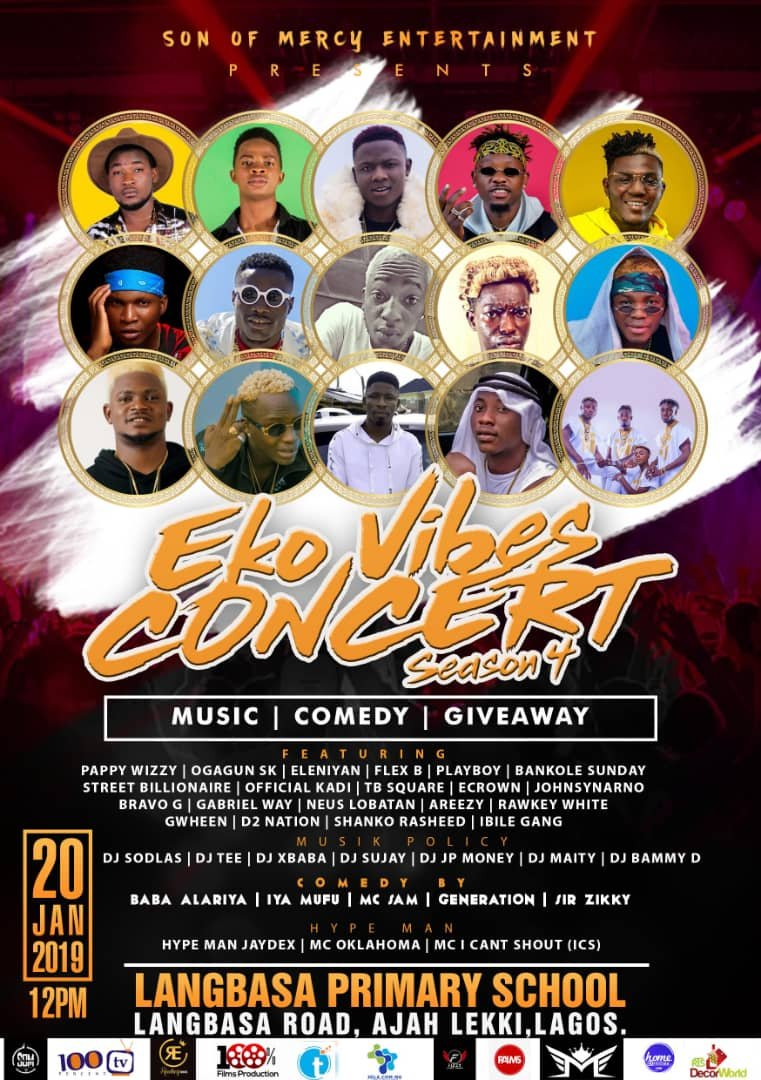 S.O.M ENT Presents: Eko Vibes Concert (Season 4)