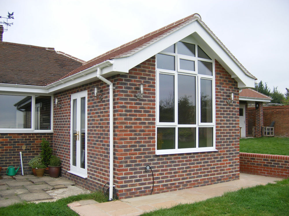 Design plans and ideas for bungalow extensions cost for Garage extension ideas