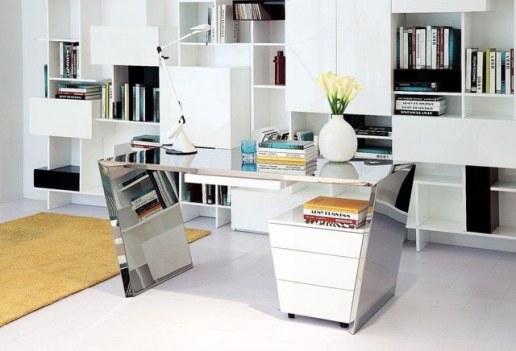 Clif Modern Office Desk - Modern - Desks & Writing Bureaus