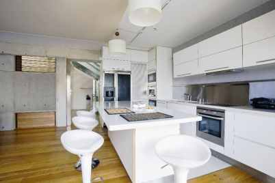 trendy white bar stools perfect for your contemporary kitchen