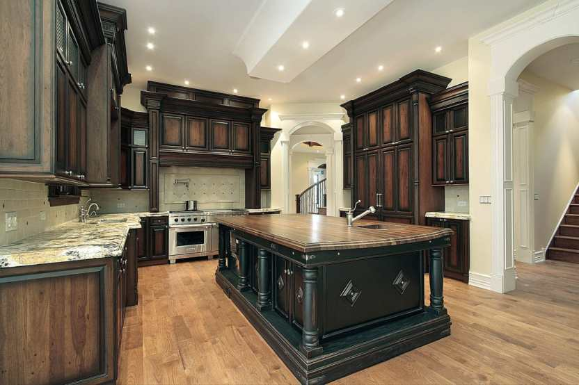 ultimate cream kitchen with traditional look