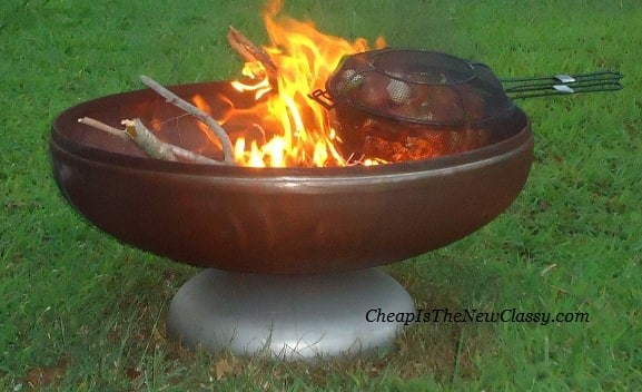 Fire Pit from Ohio Flame looks great