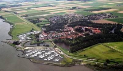 Jachthavens in het Hollands Diep