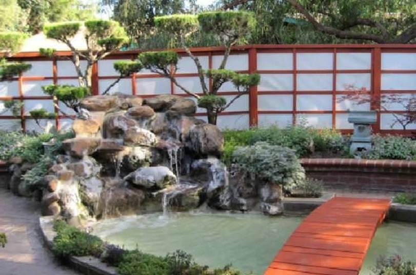 Japannese tuin ontwerp idees
