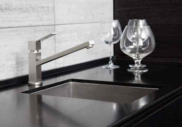 kitchen sink with an elegant style