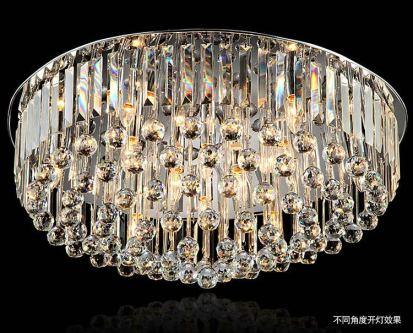 Modern crystal ceiling lamp led crystal ball ceiling light
