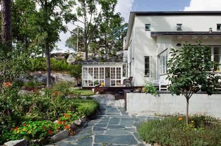 Nordic Bliss Scandinavian style swedish home exterior