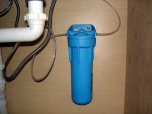 nstall a Water filter
