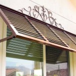 What different types of exterior awnings are there?