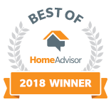 A&B Cleaners, LLC is a Best of HomeAdvisor Award Winner