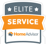 HomeAdvisor Elite Service Award - Crown Restoration Services