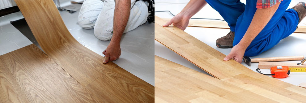 Complete Guide To Laminate Vs Vinyl Flooring Plank