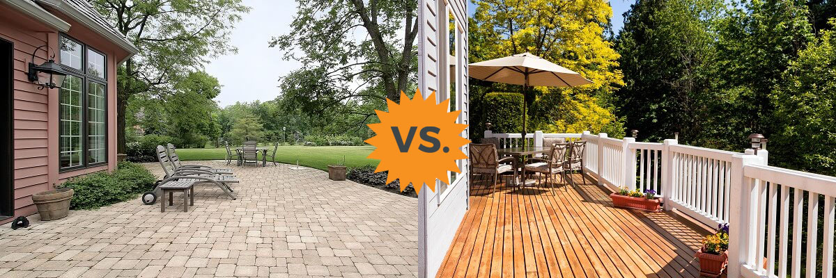 2020 deck vs patio guide costs