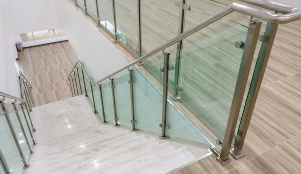 2020 Glass Deck Stair Railing Costs Per Foot Homeadvisor   Indoor Wrought Iron Railings Home Depot   Balusters   Wood   Iron Stair Rail   Stair Parts   Front Porch Railings