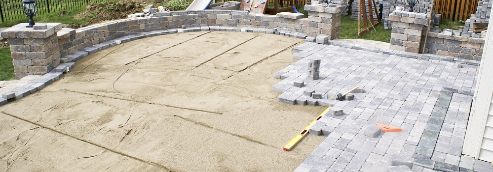2020 stamped concrete vs pavers costs