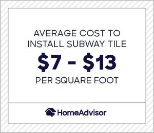 to install subway tile backsplash