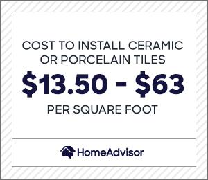 tile floor prices per square foot
